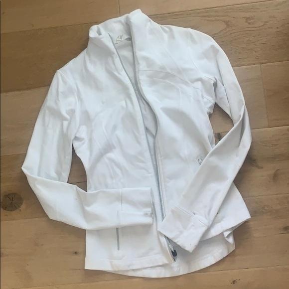 Lulu lemon sweater white size 6